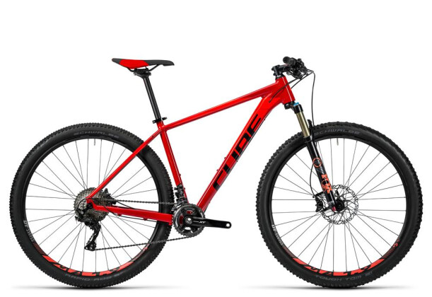 Mountainbike Cube LTD SL 2x red´n´flashred 2016