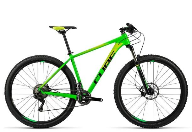 Mountainbike Cube LTD Pro 2x green´n´kiwi 2016