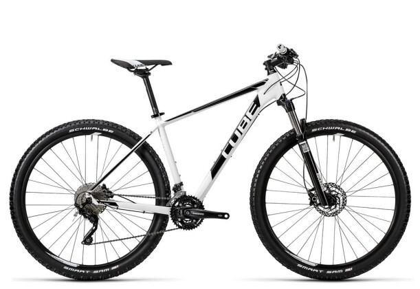 Mountainbike Cube Attention white´n´black 2016