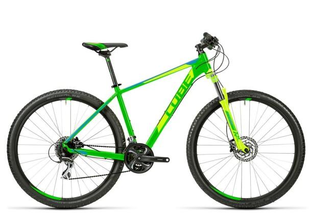 Mountainbike Cube Aim SL green´n´blue 2016