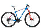 Mountainbike Cube Aim Pro blue´n´flashred