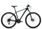Mountainbike Cube Aim Pro black´n´green