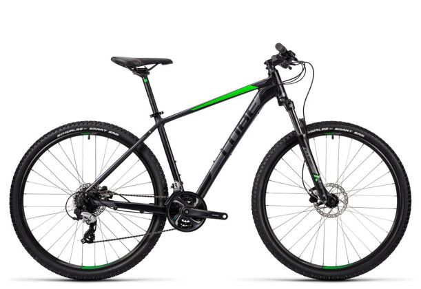 Mountainbike Cube Aim Pro black´n´green 2016