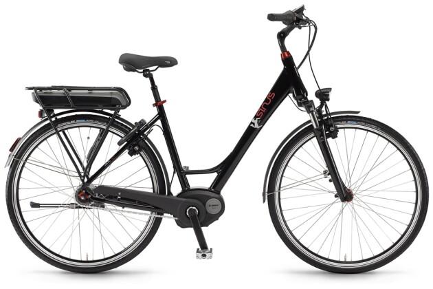 E-Bike Sinus BC30f 400 Wh 7-G Nexus, Freilauf 2016