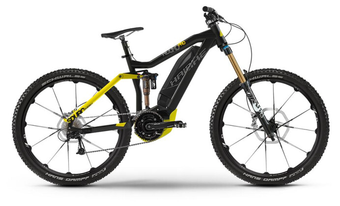 E-Bike Haibike SDURO Nduro Pro 2016
