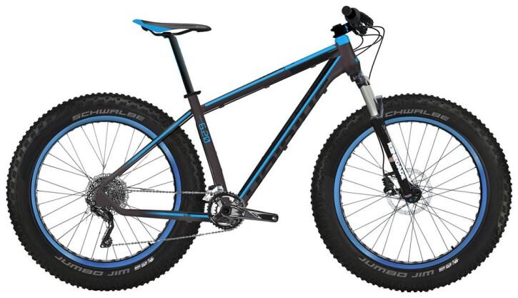 Mountainbike Haibike Fatcurve 6.20 2016