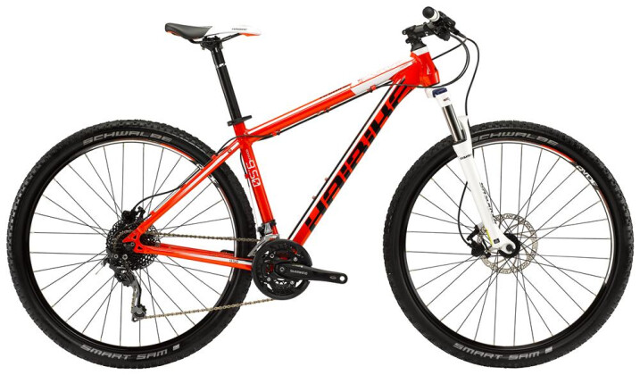 Mountainbike Haibike Big Curve 9.50 2016