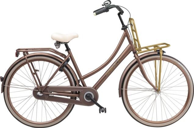 Citybike Sparta Pick Up D Chestnut Brown Matte (Stahl) 2016