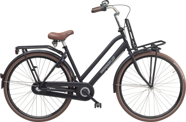 Citybike Sparta Pick Up DP Black Matte (Stahl) 2016