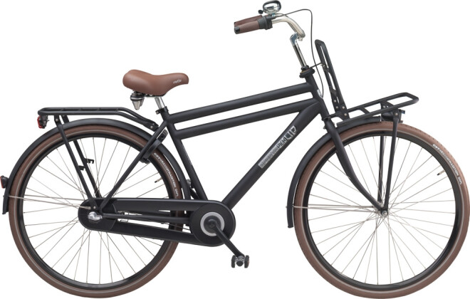 Citybike Sparta Pick Up H Black Matte (Stahl) 2016