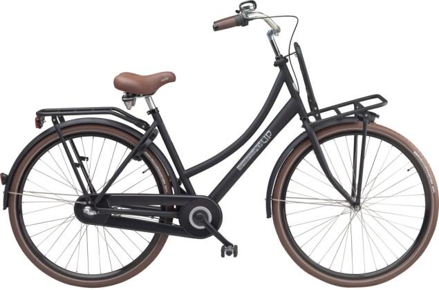 Citybike Sparta Pick Up D Black Matte (Stahl) 2016