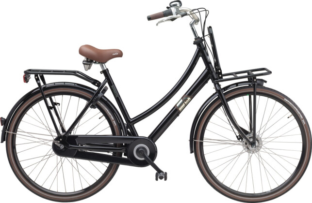 Citybike Sparta Pick Up D Black (Aluminium) 2016