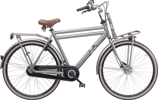Citybike Sparta Pick Up H Grigiosilver Matte (Aluminium) 2016