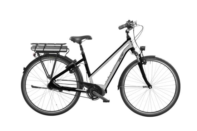 E-Bike Falter E 8.8 Trapez Matt Schwarz / Silber 2016
