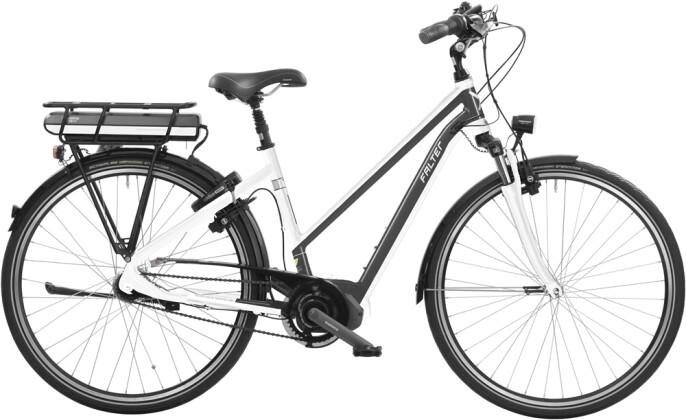E-Bike Falter E 8.8 Trapez weiß anthrazit 2016
