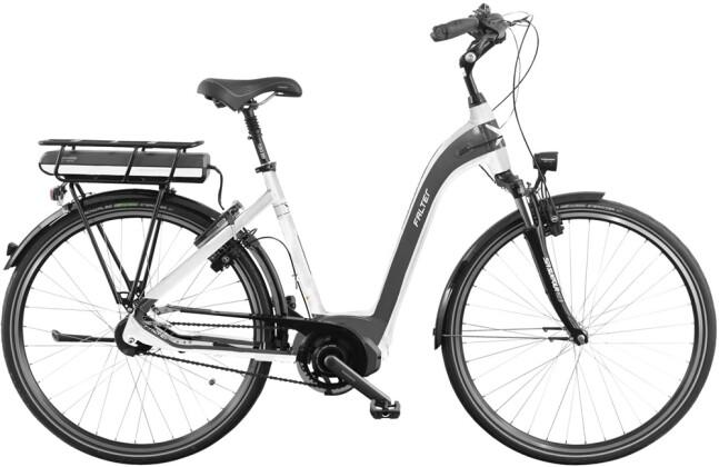 E-Bike Falter E 8.8 Wave weiß anthrazit 2016