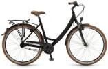 Citybike Winora Holiday schwarz matt