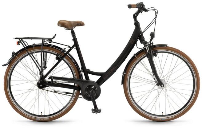 Citybike Winora Holiday schwarz matt 2016