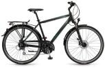 Trekkingbike Winora Bermuda, schwarz o. weiß/cyan/lime