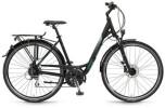 Trekkingbike Winora Bermuda, schwarz/grün matt