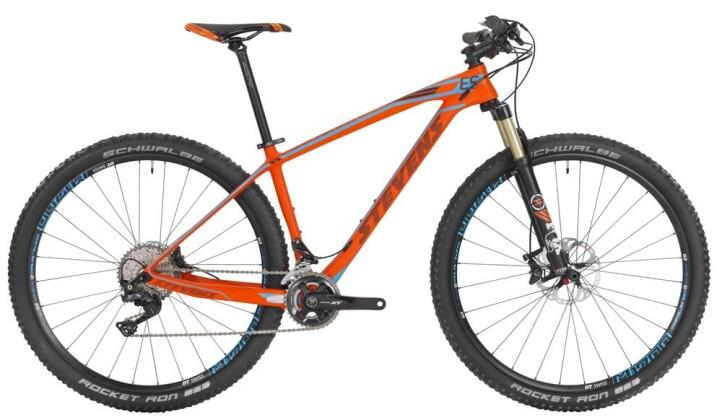 """Mountainbike Stevens Sonora ES 29"""" Fire Orange 2016"""