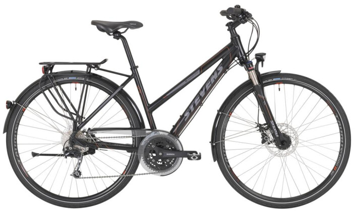 Trekkingbike Stevens Savoie Disc Lady Black 2016