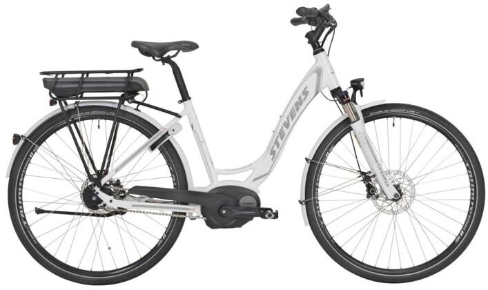 E-Bike Stevens E-Courier Disc Forma White 2016