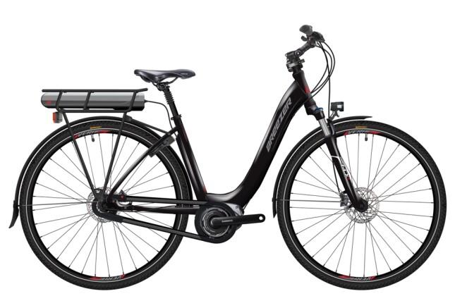 E-Bike Breezer Bikes Greenway  IG + LS 2016