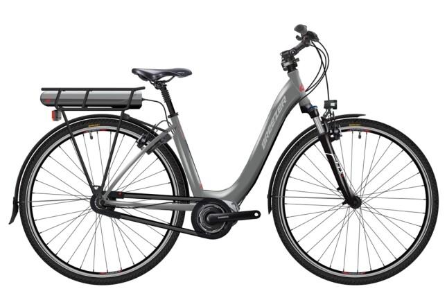 E-Bike Breezer Bikes Greenway  IG + LS Coaster 2016