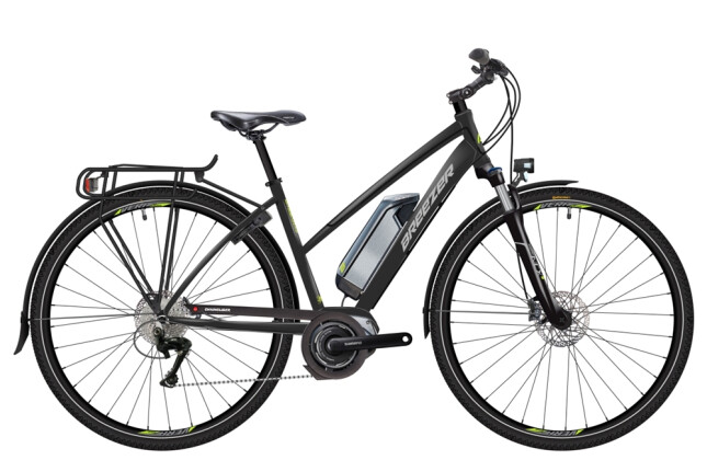 E-Bike Breezer Bikes Greenway + ST 2016