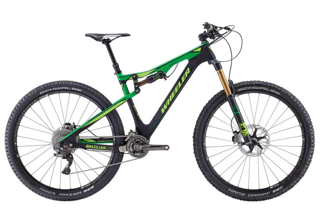 Mountainbike Wheeler Wheeler Brazilian LTD 2016