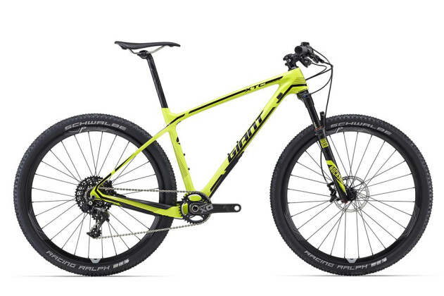 Mountainbike GIANT XtC Advanced SL 1 2016