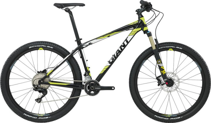 Mountainbike GIANT Talon RC LTD 2016