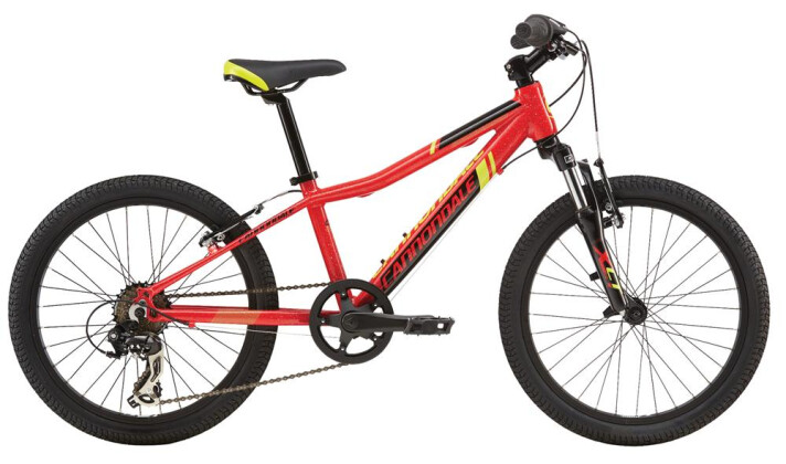 Kinder / Jugend Cannondale 20 M Cannondale Kids 20 Trail RED OS 2016