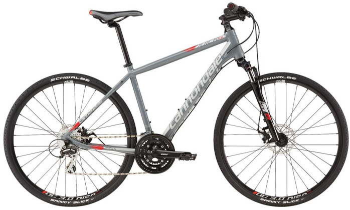 Crossbike Cannondale 700 M Quick CX 4 GRY 2XL 2016