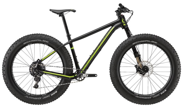 Mountainbike Cannondale 26 M Fat CAAD 1  BLK LG 2016