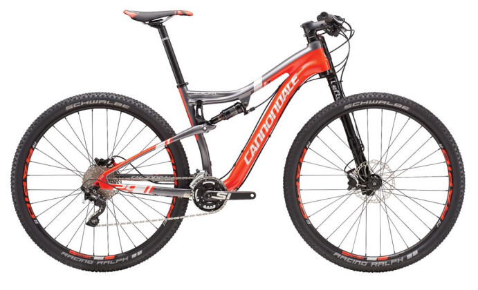 Mountainbike Cannondale 29 M Scalpel Crb 3 RED LG 2016