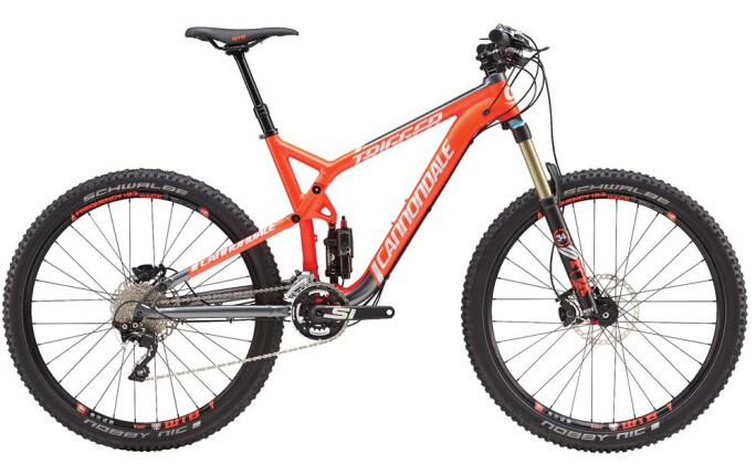 Mountainbike Cannondale 27.5 M Trigger Al 3  RED LG 2016