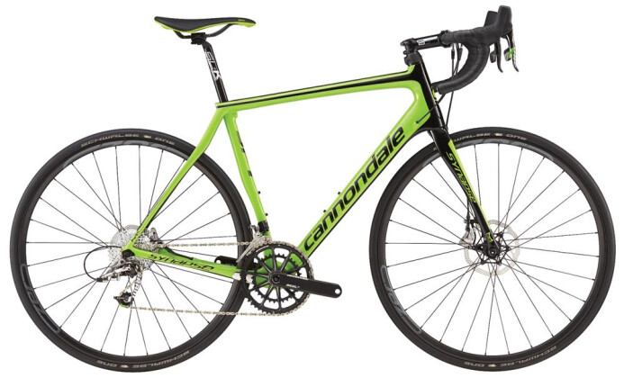 Rennrad Cannondale 700 M Synapse HM Disc Red C GRN 48 2016