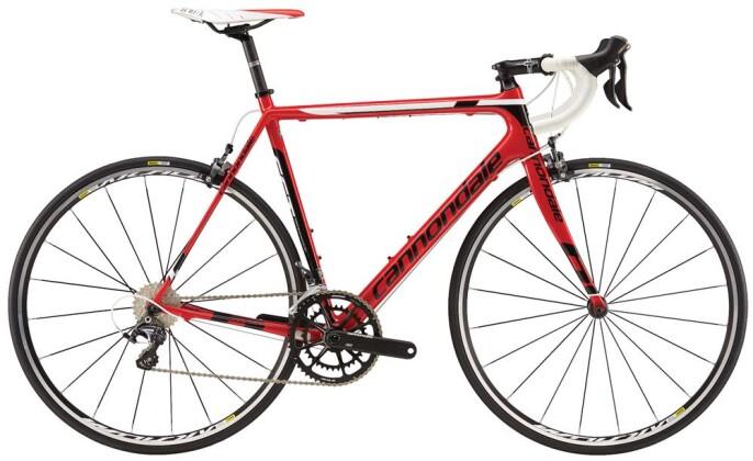 Rennrad Cannondale 700 M S6 EVO Ult 3 Mid RED 48 2016