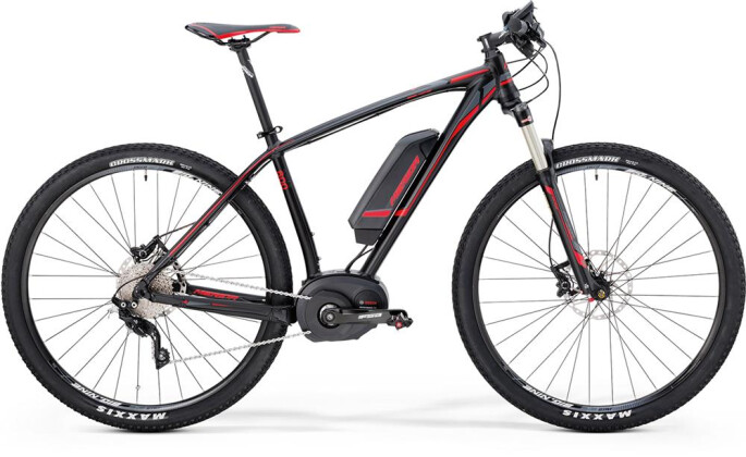 E-Bike Merida BIG.NINE E-LITE 640 2016