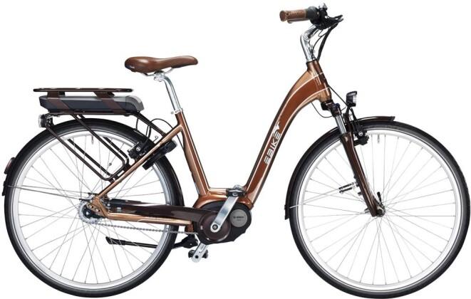 E-Bike EBIKE C004 Majesty Bosch Freilauf 2016
