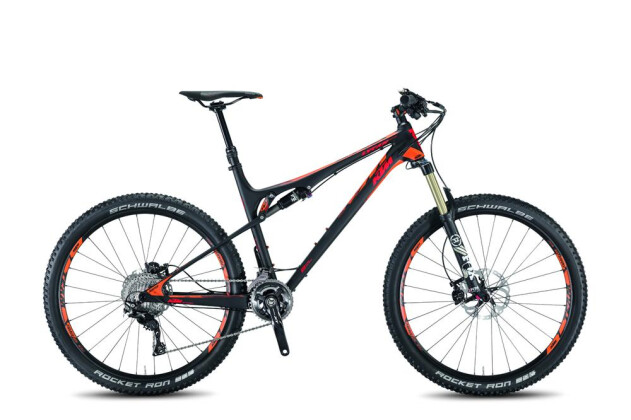 "Mountainbike KTM Bikes Lycan 27"" Carbon 2016"