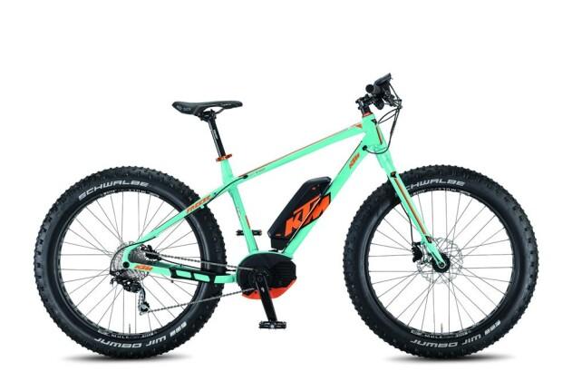 E-Bike KTM Bikes Macina Freeze 26 10 CX4 2016