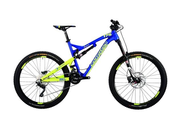 Mountainbike Corratec Inside Link 10 Hz 175 X 2016