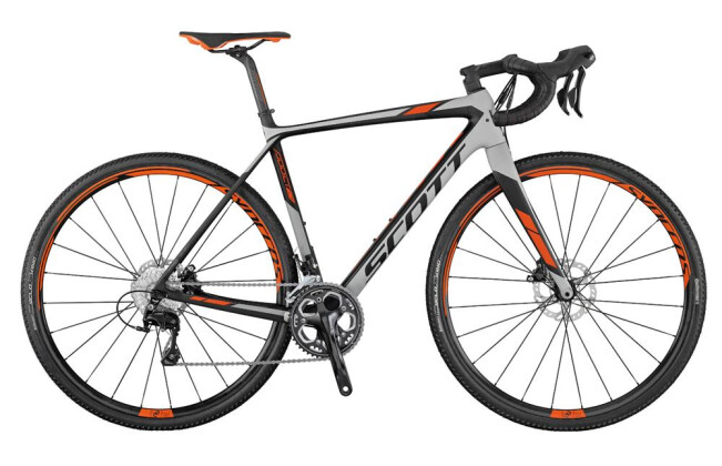 Rennrad Scott Addict CX 20 Disc 2017