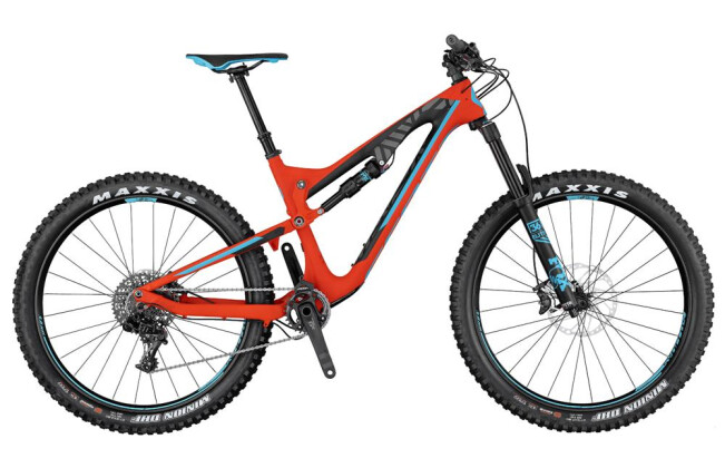 Mountainbike Scott Genius LT 710 Plus 2017