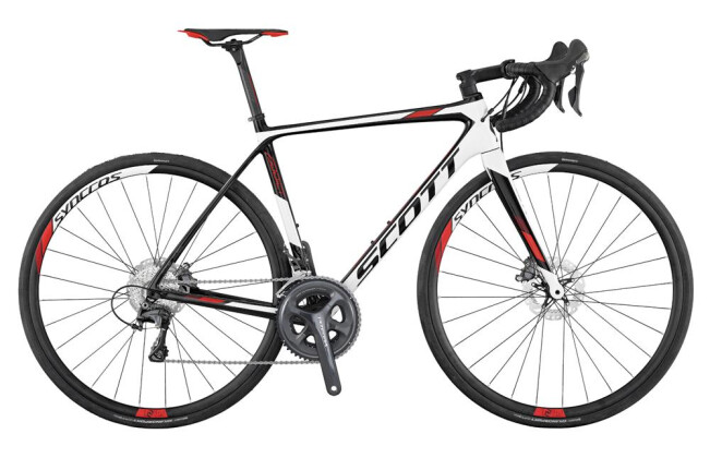Rennrad Scott Addict 20 Disc 2017