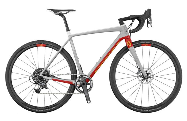 Rennrad Scott Addict Gravel 10 Disc 2017