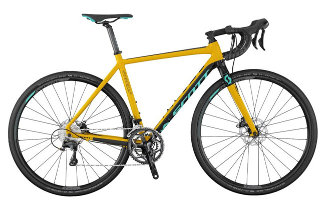Rennrad Scott Speedster Gravel 10 Disc 2017